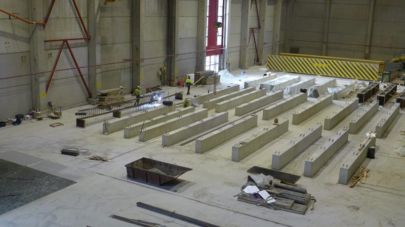 фото со строительства дата-центра (lumi-supercomputer.eu)
