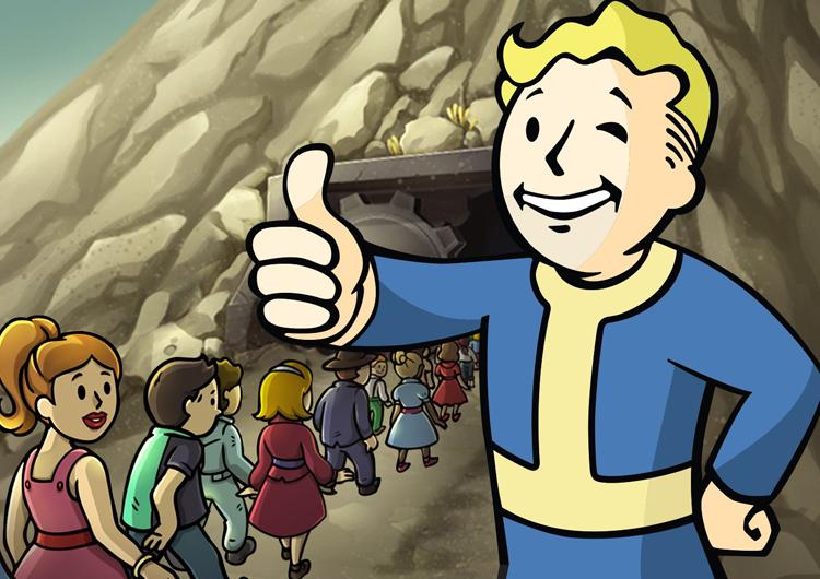 Постапокалипсис в машине: Fallout Shelter появилась в автомобилях Tesla