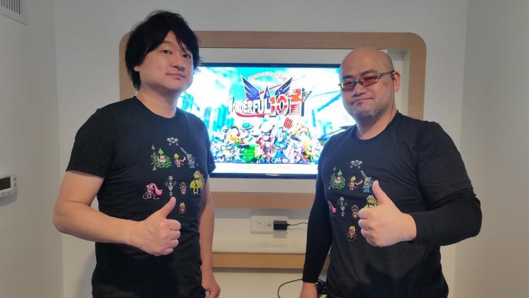 Ацуси Инаба (слева) и Хидеки Камия (справа)
