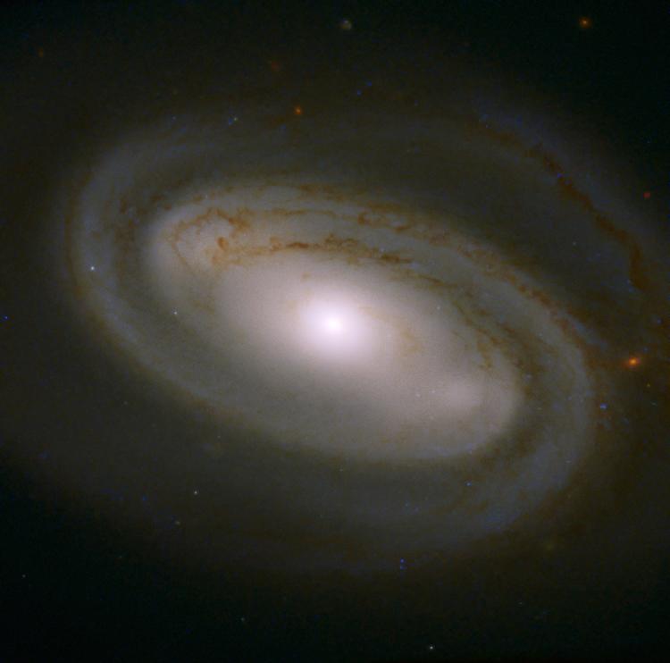 Фото дня: похожая на кофе спиральная галактика в созвездии Большой Медведицы