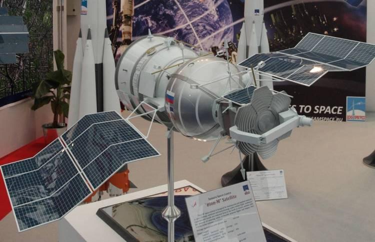Макет био-спутника
