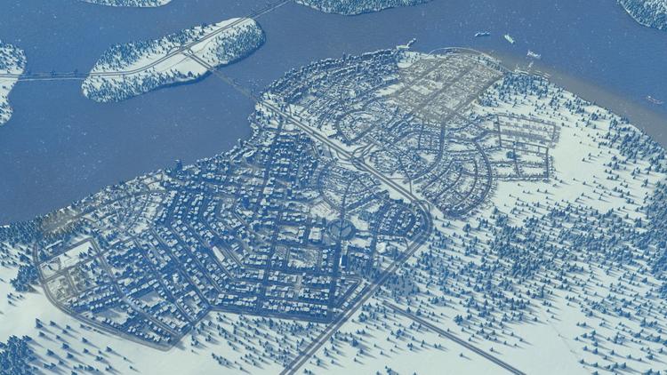 Новый дешёвый набор Humble Bundle: градостроительный симулятор Cities: Skylines с множеством DLC