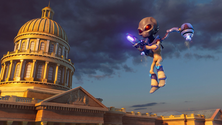 На ПК стала доступна демоверсия ремейка Destroy All Humans!