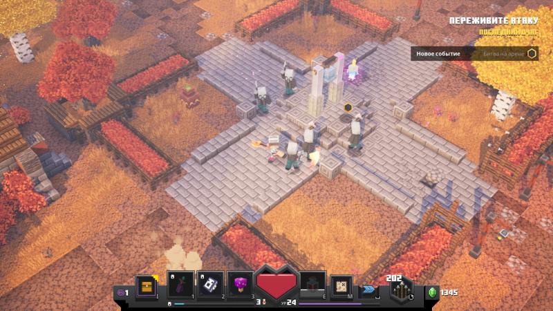 Враги в Minecraft Dungeons ― сплошное кубическое разнообразие: простые рубаки, маги-зачарователи, взрывающиеся кактусы, приклеивающие к полу пауки и другие не менее приятные собеседники…