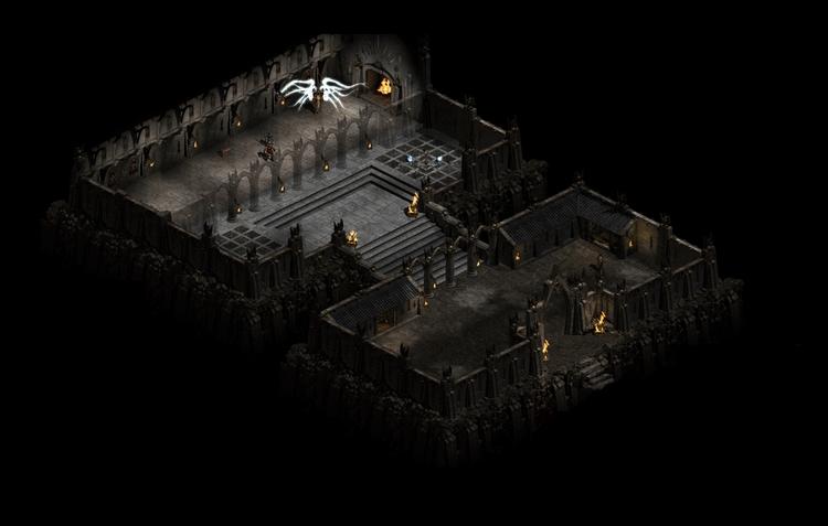 Цитадель Хаоса в Diablo II. Источник www.diablo.gamepedia.com