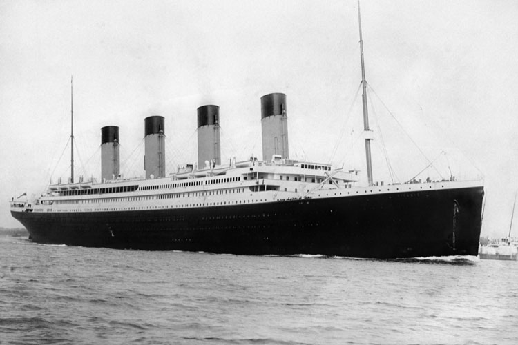 Титаник перед рейсом 10 апреля 1912 года (RMS Titanic)