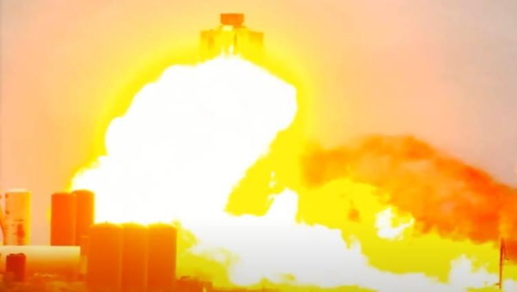 Прототип межпланетного корабля Илона Маска взорвался при испытании