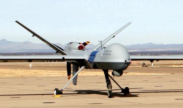 Пограничный дрон Predator B