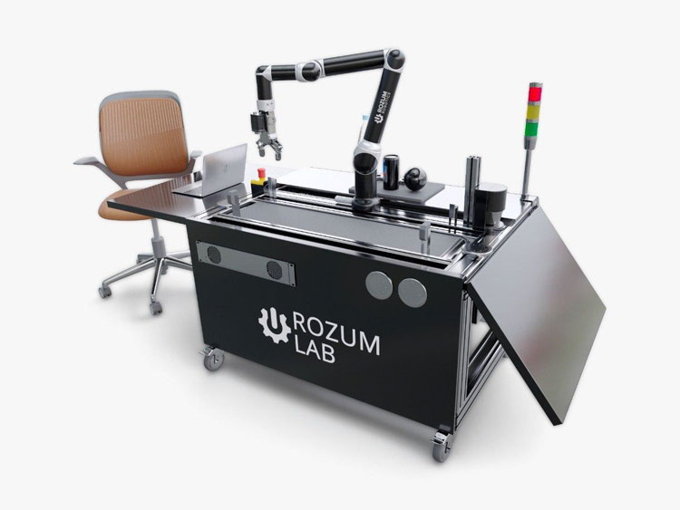 Роботизированный учебный комлекс Rozum Robotics (источник изображения Ростех)