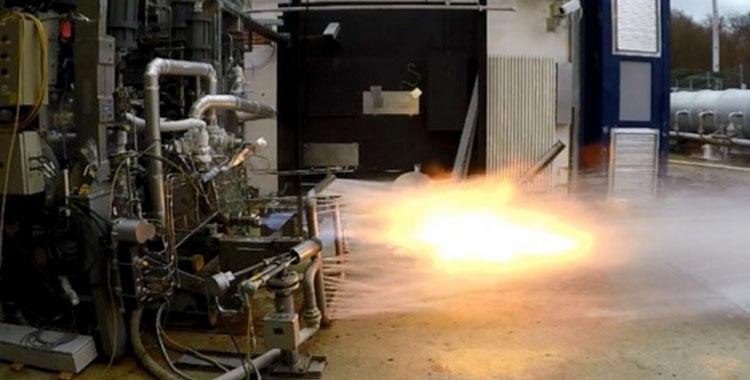 Огневые испытания газогенератора Prometheus