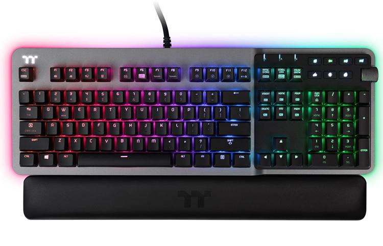 Серия игровых устройств Thermaltake Argent включает клавиатуру, мыши и наушники