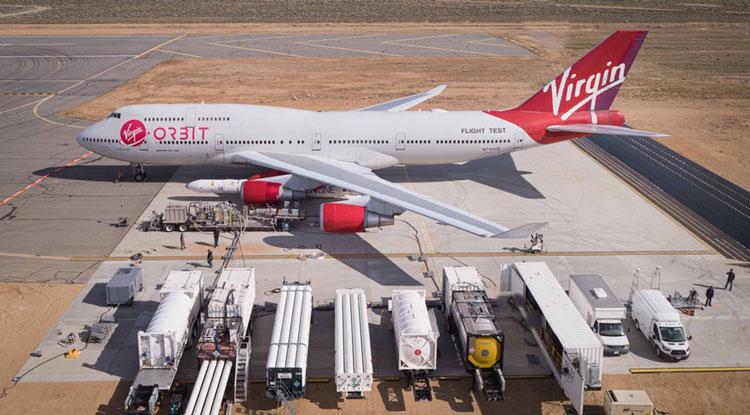Действующая инфраструктура подготовки воздушного старта (Virgin Orbit)