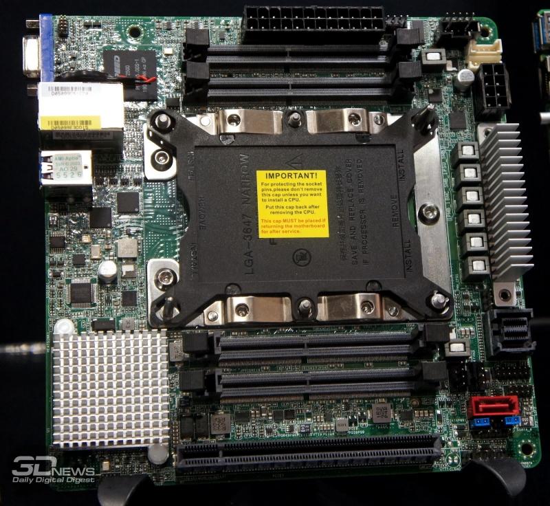 Так выглядит попытка совместить Xeon Scalable и форм-фактор mini-ITX