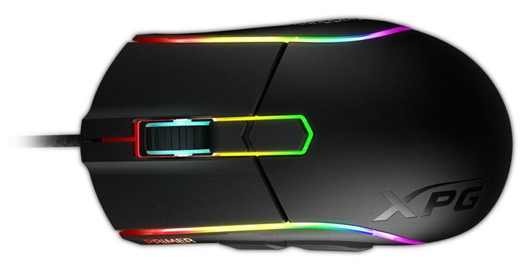 Мышь ADATA XPG Primer обладает датчиком с разрешающей способностью 12 000 DPI
