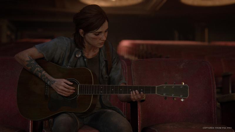 С гитарой связана простенькая мини-игра
