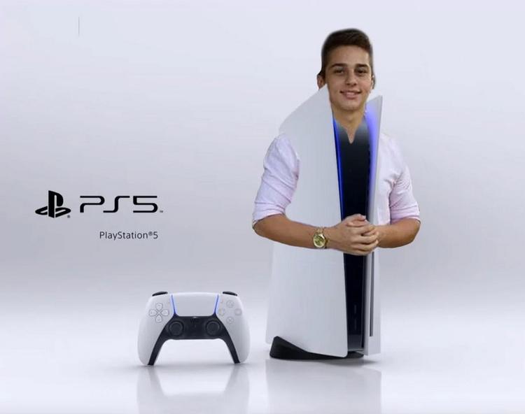 Внешний вид PlayStation 5 вызвал смех у многих пользователей Сети