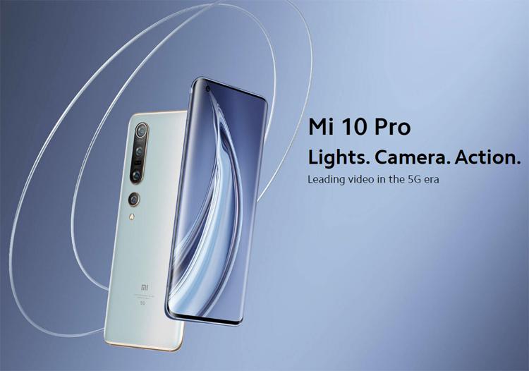 Здесь и ниже Xiaomi Mi 10 Pro