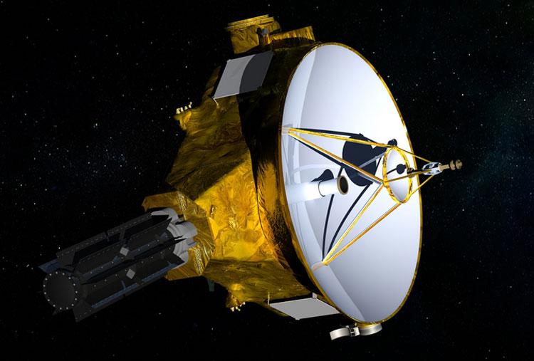 Космический корабль New Horizons в представлении художника