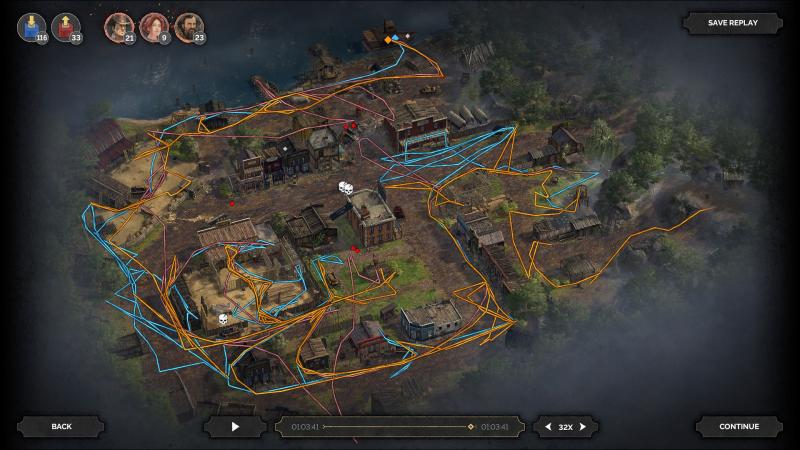Прикольное нововведение — игра показывает ваш маршрут и действия после прохождения миссии. Можно хвастаться перед другими или подметить свои ошибки
