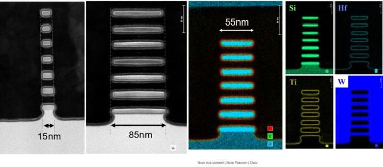 Семь уровней каналов-наностраниц в одном транзисторе (CEA-Leti)