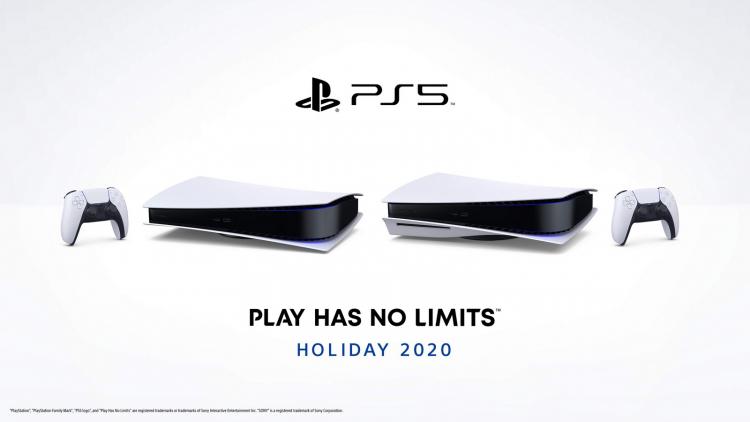 Официальное фото PlayStation 5 лёжа: без подставки не обойтись