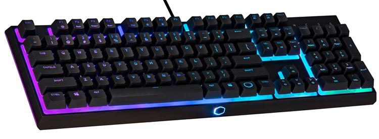 Игровая клавиатура Cooler Master MK110 относится к классу Mem-Chanical