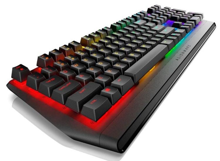 Игровая клавиатура Alienware AW410K оснащается переключателями Cherry MX Red/Brown