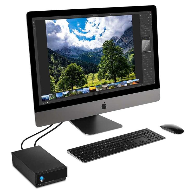 Ёмкость внешних накопителей LaCie 1big Dock SSD Pro достигает 4 Тбайт