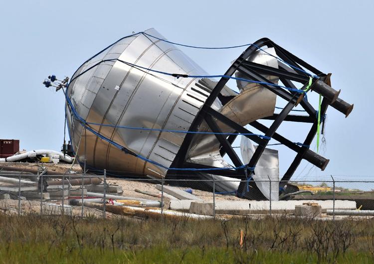 Топливный бак SpaceX Starship разорвался во время испытаний, но это никого не удивило