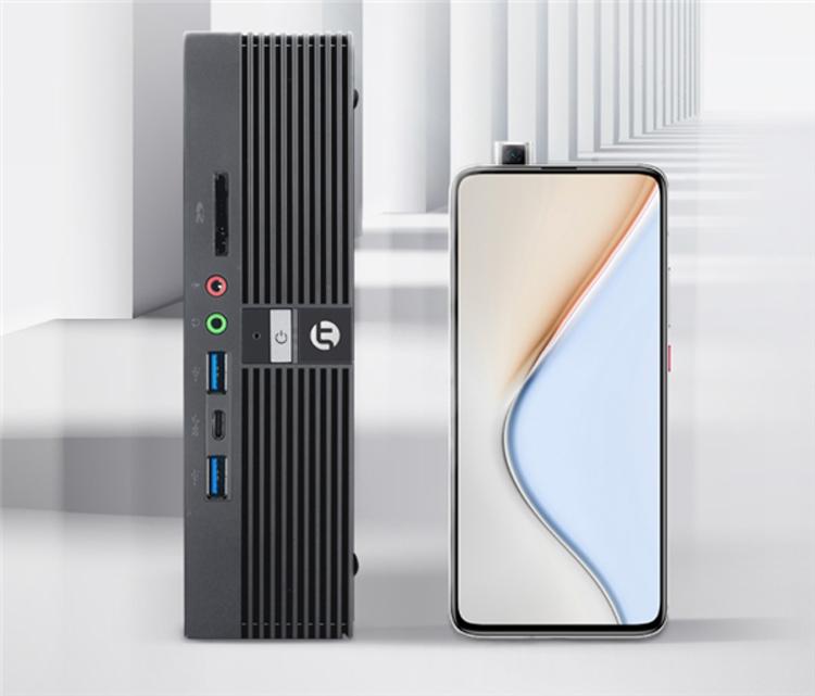 Мини-десктоп Xiaomi Ningmei CR100 весит 760 граммов
