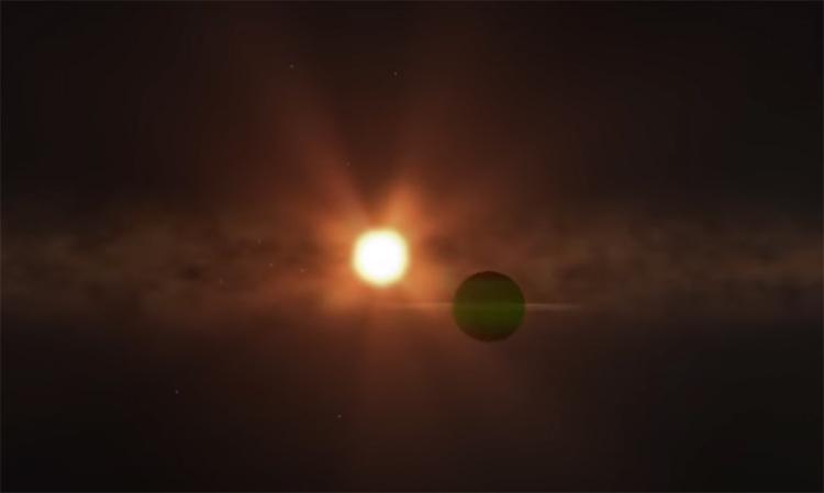 В близлежащей звёздной системе обнаружена планета размером с Нептун