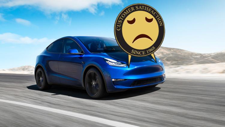 Tesla заняла последнее место в  американском рейтинге качества автомобилей