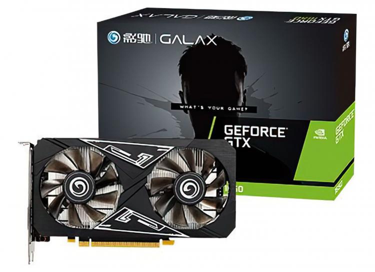 GALAX представила видеокарту GeForce GTX 1650 Ultra на графическом чипе от GeForce RTX 2060