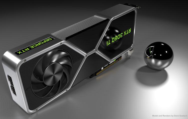 Дизайнер представил своё видение внешности эталонной GeForce RTX 3080 Ti