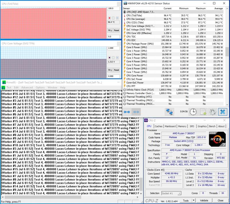 sm.3800xt oc.800 Обзор процессоров AMD Ryzen 9 3900XT и Ryzen 7 3800XT: гримасы оптимизации 20