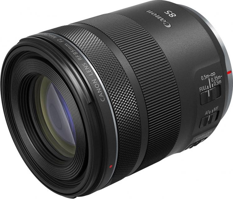 Canon представила RF 85 мм F2 Macro IS STM — идеальный объектив для крупных планов и портретов