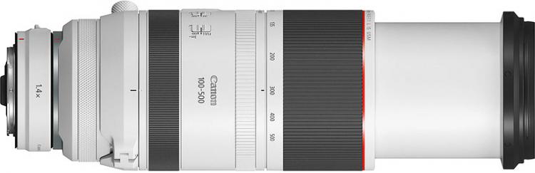Canon представила RF 100–500 мм F4.5–7.1L IS USM — первый суперзум для байонета RF