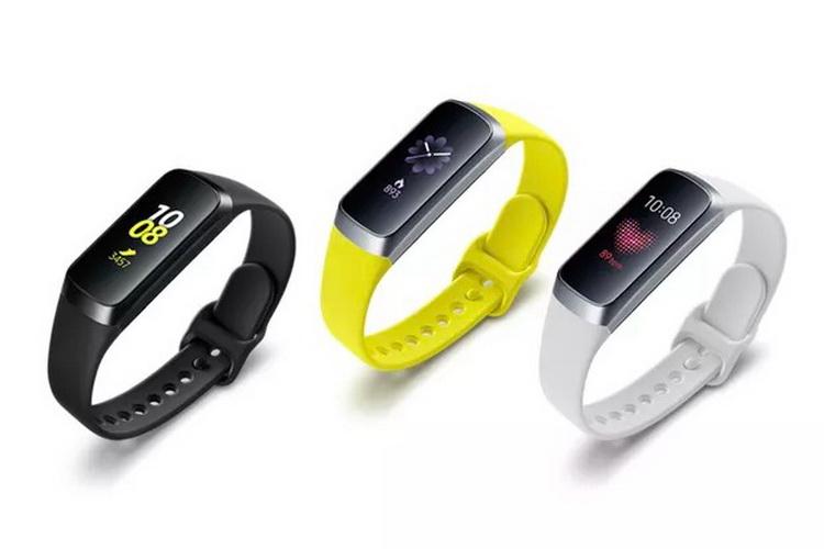 Bracelet de fitness Galaxy Fit de l'année dernière