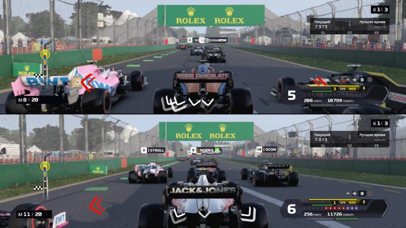 Одно из нововведений F1 2020 ― игра на разделённом экране! Как там говорится про «всё новое»?