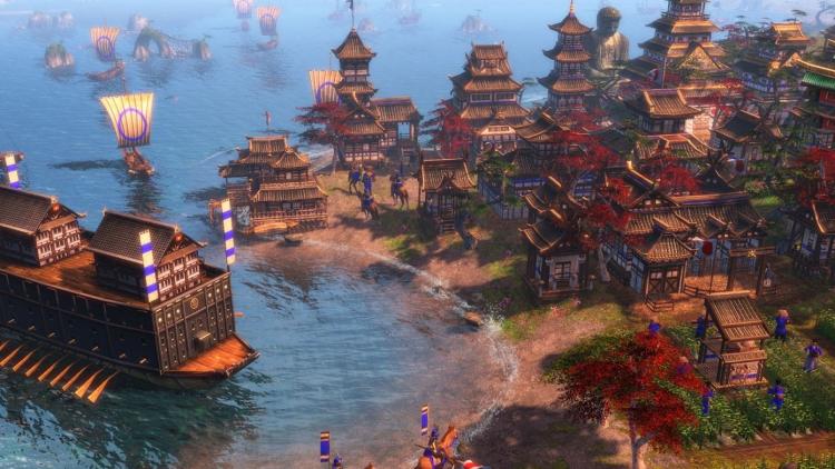 Скриншот из оригинальной Age of Empires III