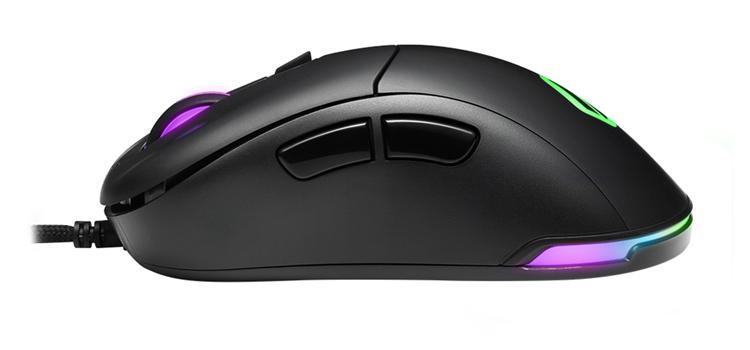 Игровая мышь Sharkoon Light2 100 с подсветкой относится к начальному уровню