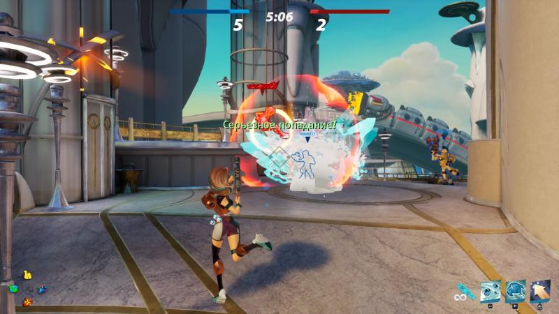 Хотя в игре постоянно что-то взрывается и в разные стороны летят снаряды, эффекты не мешают и разобраться в происходящем всегда легко