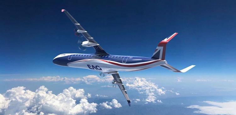 Проект гибридного пассажирского самолёта HERA (Hybrid Electric Regional Aircraft)