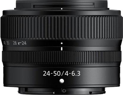Nikkor Z 24–50 мм f/4–6,3 — компактный зум за $400