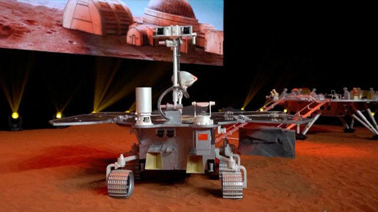 Китайский марсоход миссии Tianwen-1