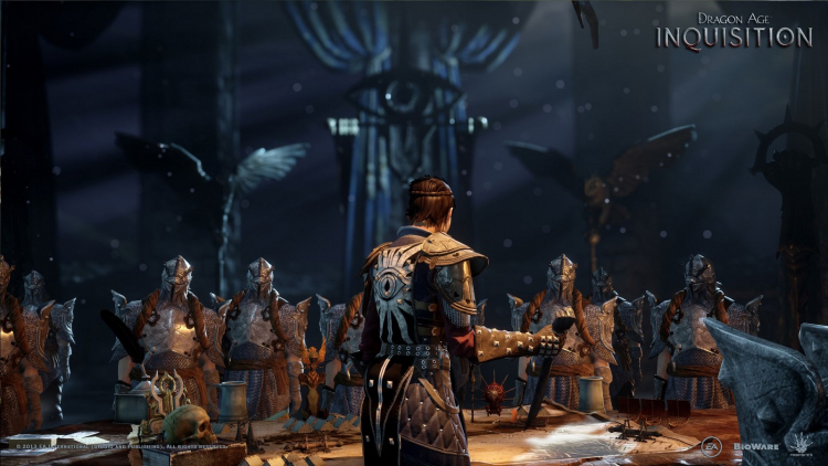 Лэйдлоу был режиссёром Dragon Age: Inquisition