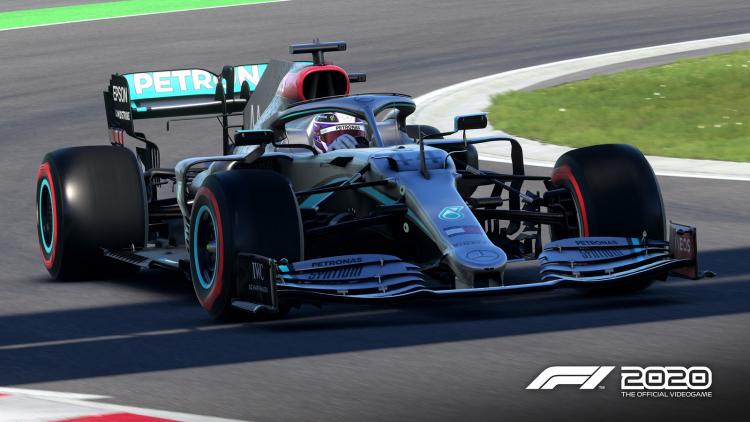 Болид Mercedes-AMG F1 в F1 2020 до выхода патча 1.06
