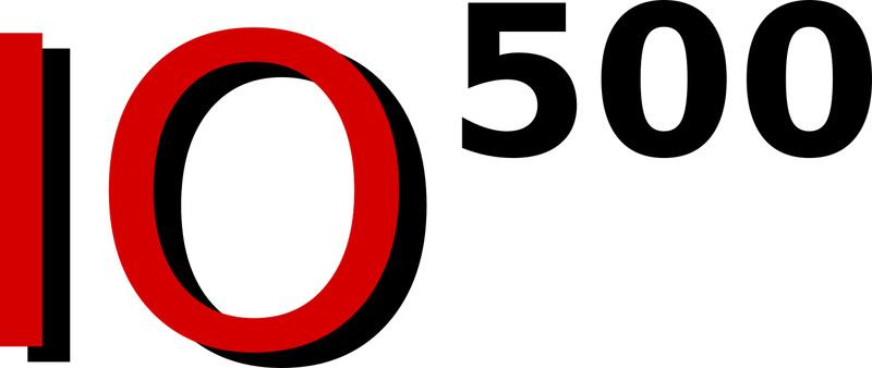 Официальный логотип нового рейтинга IO500