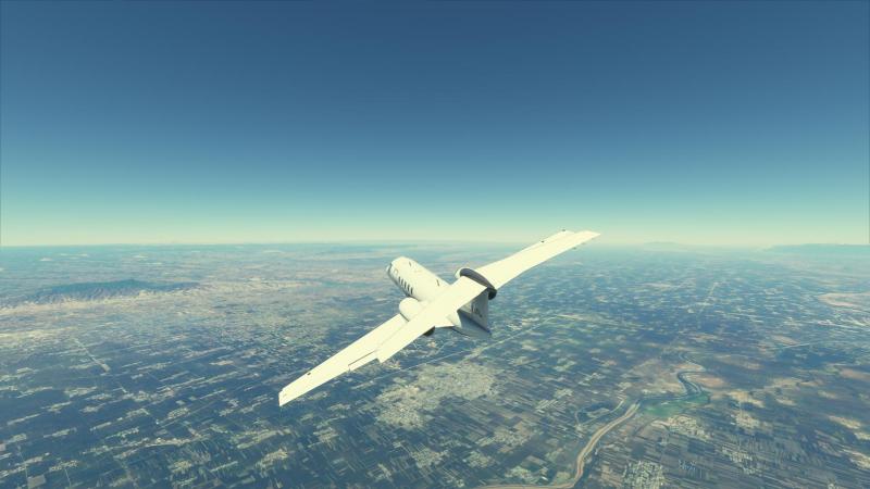 По заверениям авторов, у каждого самолёта в MSF уйма симулируемых поверхностей
