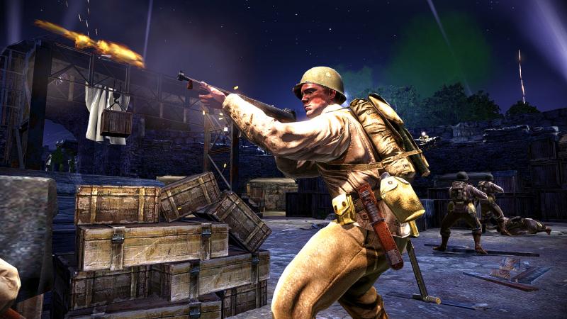 Десантник в Medal of Honor: Airborne нередко прыгал в самое пекло боя